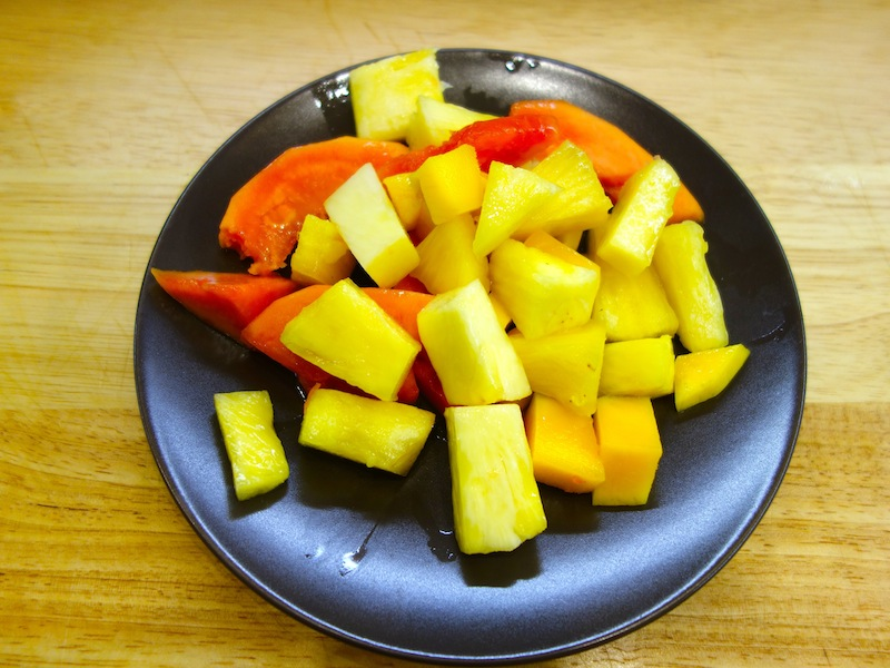 Корзиночки с кремом и фруктами (мастер-класс)