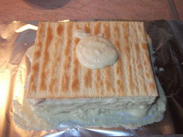 Крем заварной для торта «Наполеон»