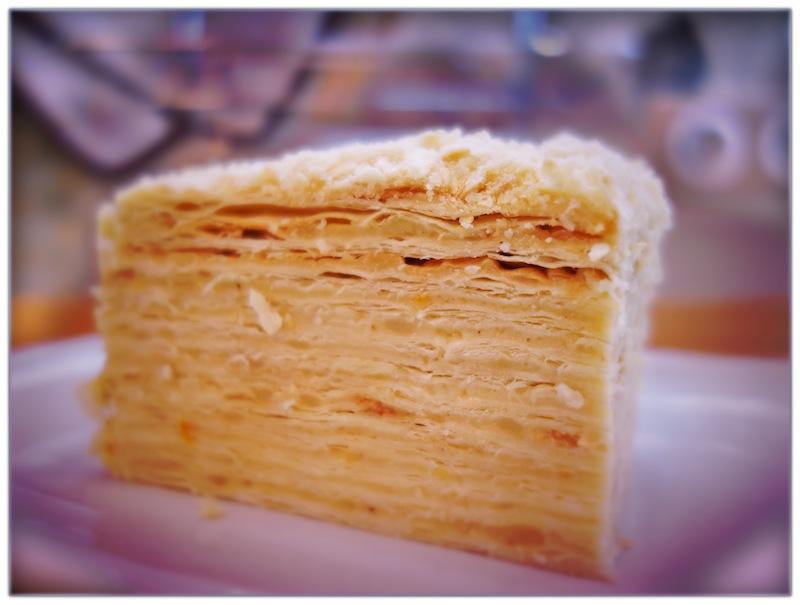 Как сделать начинку для торта наполеон