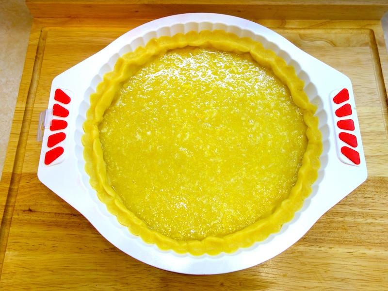 Лимонный пирог из песочного теста (мастер-класс)