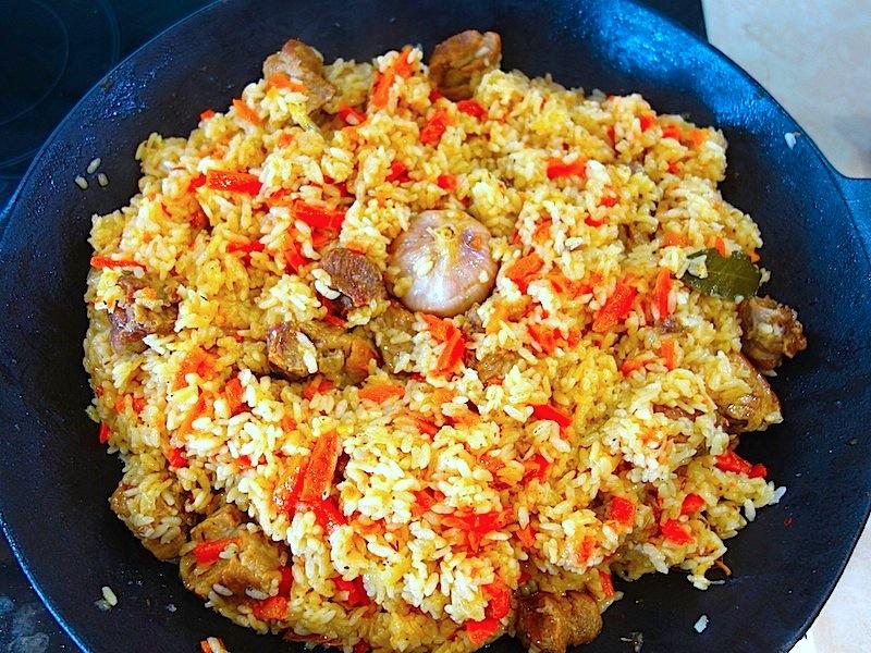 Рис с мясом (мастер-класс)